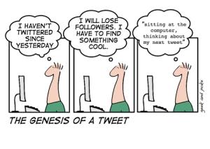 The Genesis of a Tweet